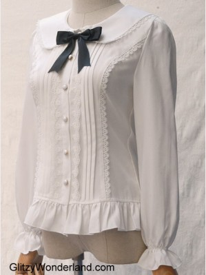 Lolita Cat Ears Chiffon Blouse