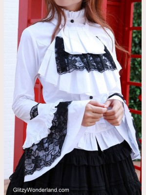 Wide Sleeves Gothic Lolita Blouse