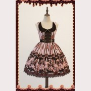 Infanta Chocolate Trojan Lolita Dress JSK