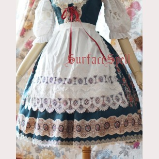 Surface spell Alpine rose Apron