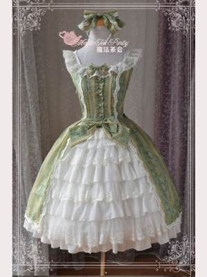 "Magic tea party ""Edelie"" Lolita Dress JSK"