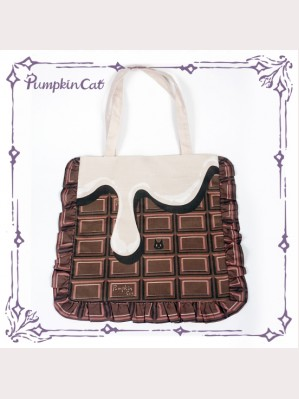 "Pumpkin Cat ""Chocolate"" Handbag"