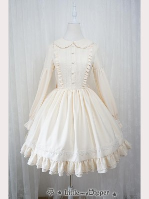 "Little-Dipper ""Fall of Fei"" lolita dress OP & Headdress Set"