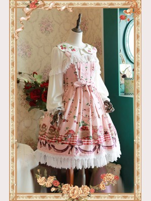 "Infanta ""Picnic Rabbit"" Lolita Dress JSK"