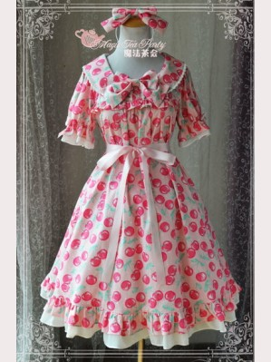 Magic tea party Cherry Lolita Dress OP
