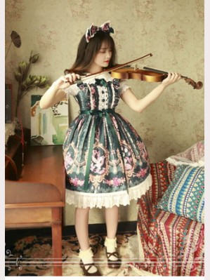 Magic tea party Flower Fairy Lolita Dress JSK