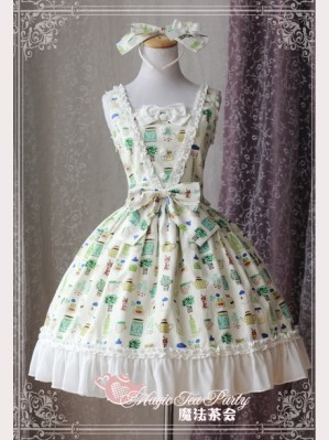 "Magic tea party ""Sweet Life"" Lolita Dress JSK"