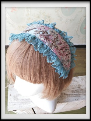Infanta Windsor's Afternoon Tea Embroidery Lolita Headdress