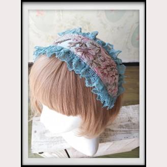 Infanta Windsor's Afternoon Tea Embroidery Lolita Headdress