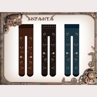 Infanta Steampunk Gears Lolita Tights