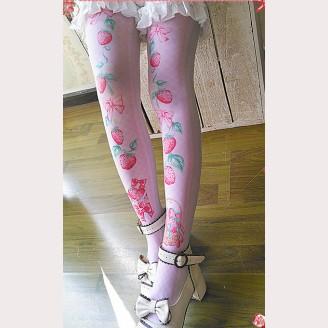 Infanta Strawberry Lolita Stockings