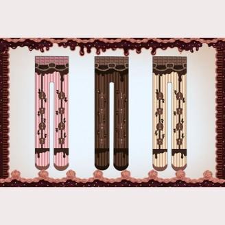 Infanta Chocolate Trojan Tights