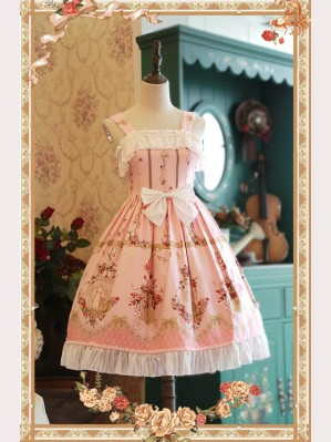 Infanta love & canary Lolita Dress JSK