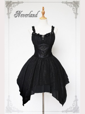 Souffle Song Undead Serenade Gothic Lolita Dress JSK & Shawl
