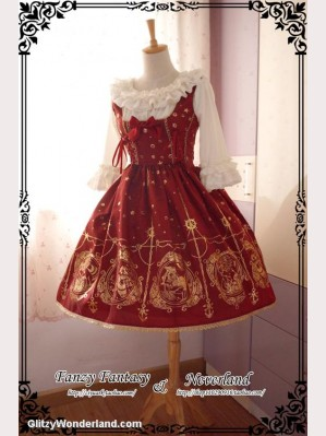 Souffle Song Mermaid's Song lolita dress JSK 2