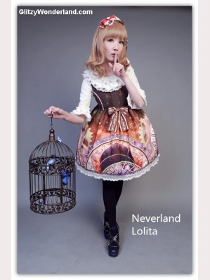 Souffle Song Astronomical clock lolita dress JSK 2