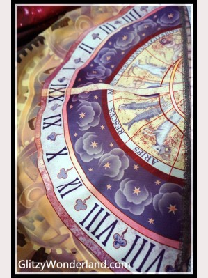 Souffle Song Astronomical clock Lolita Fabric