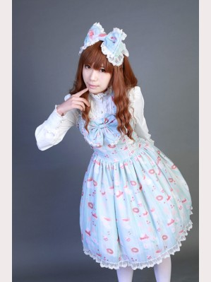 "Souffle Song ""Sweet Afternoon Tea"" low waist JSK"