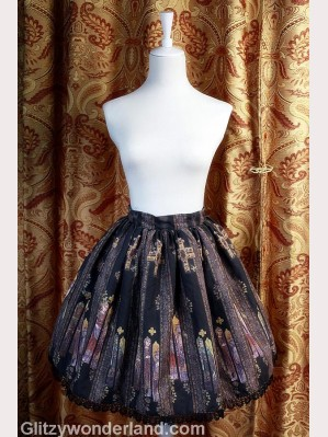 Souffle song stained glass lolita skirt SK