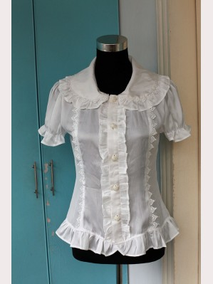 Souffle song Belle's wedding 3 ways blouse