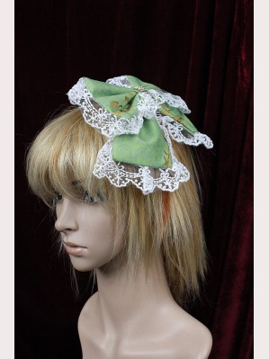 Souffle song Mucha hairclip