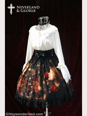 Souffle song choosing high-rise lolita skirt SK
