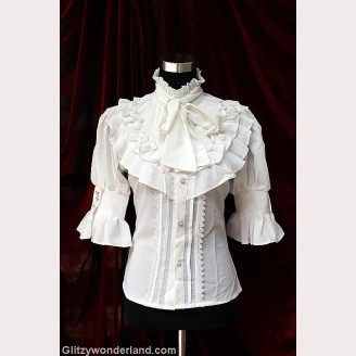Souffle song pirate map lolita blouse