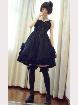 vampire gothic lolita dress (custom make size)