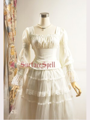 Surface Spell Rose dance long sleeves blouse