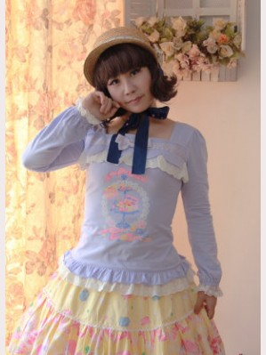 Candy time long sleeve top