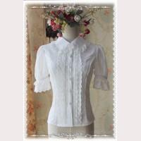 Infanta striped short sleeves Lolita Blouse