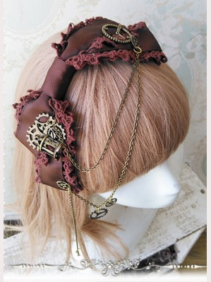 Infanta Stream Punk Lolita Headbow KC