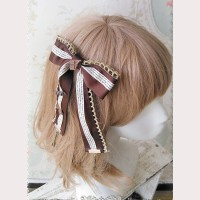 "Infanta ""Chocolate"" Lolita Hairpin/ Brooch"