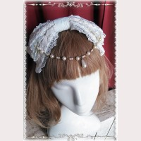 Infanta Cotton Lolita Headbow KC