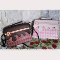Infanta Chocolate Lolita Backpack / Shoulder Bag