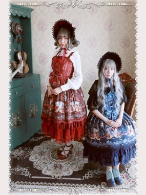 Infanta The Little Mermaid Lolita Dress JSK & Cape Set