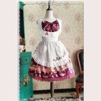 Infanta Strawberry Lolita Apron