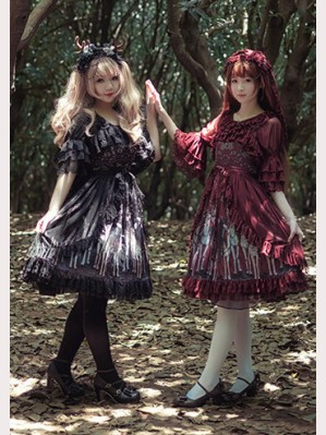 Infanta Elks Series Lolita dress JSK