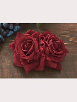 Infanta lolita rose hairclip / brooch