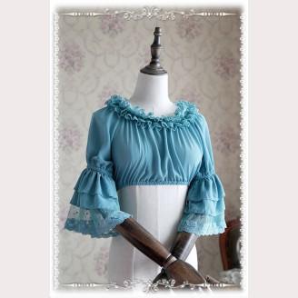 Infanta Cropped lolita blouse 3