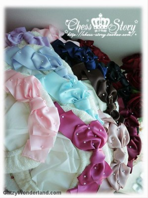 Chess Story Cutie Ribbon lolita beret
