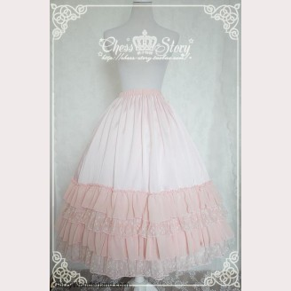 Chess Story Le Printemps long lolita skirt