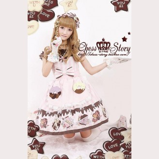 Chess Story Chocolate Party lolita dress OP