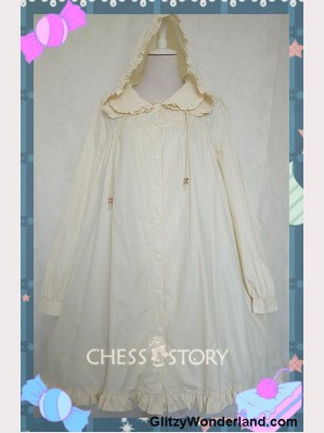 Chess Story Waterproof Lolita Raincoat
