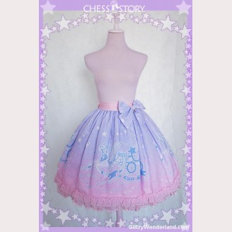 Chess Story Dreamy Starry Night lolita skirt SK