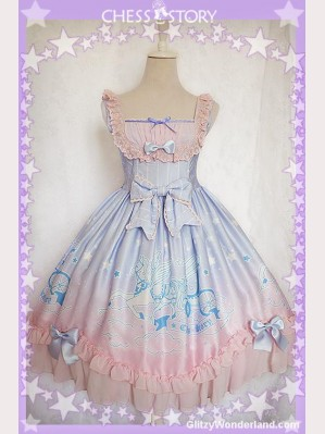 Chess Story Dreamy Starry Night Lolita Dress JSK