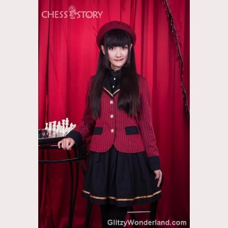 "Chess Story ""Mon cher professeur' Suit & Skirt Set"