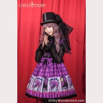 Chess Story Doll Theater Lolita Fashion Dress OP