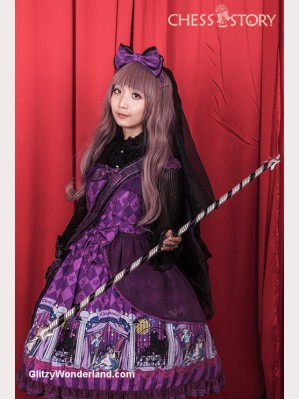 Chess Story Doll Theater Lolita Dress JSK