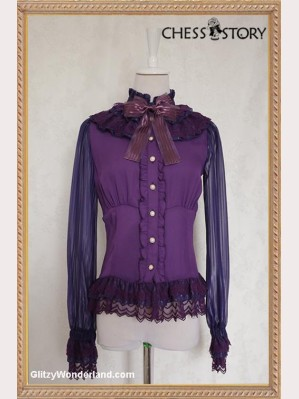 "Chess Story ""Doll Theater' Blouse"